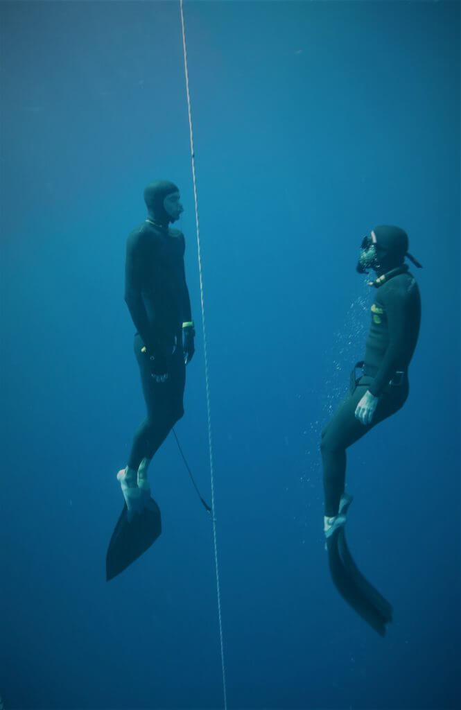 Freediving in the Migdalor