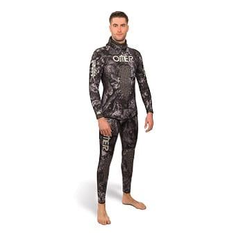 חליפת צלילה חופשית Omer Blackstone
