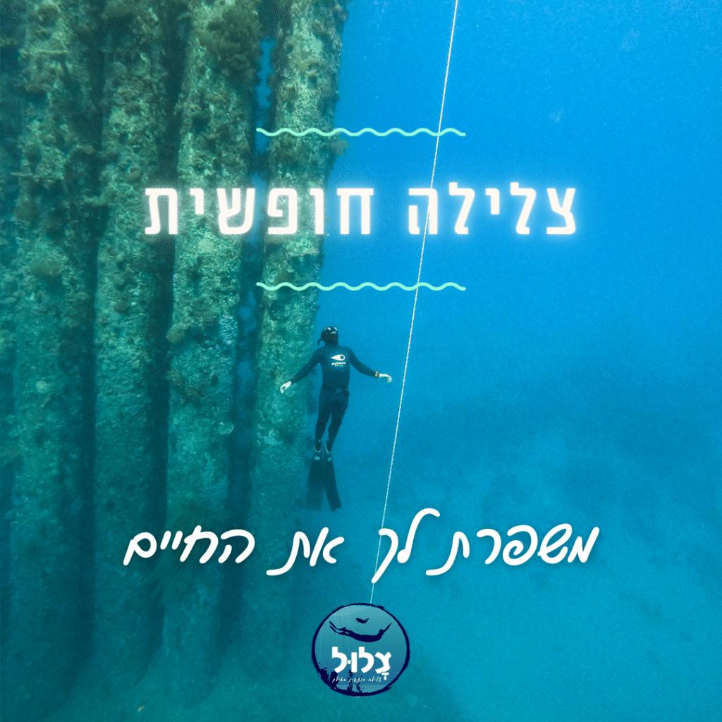 צלילה חופשית משפרת לך את החיים